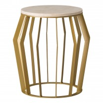 Large Billie Metal Stool/Table
