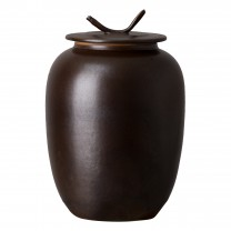 Large Japanese Tea Canister