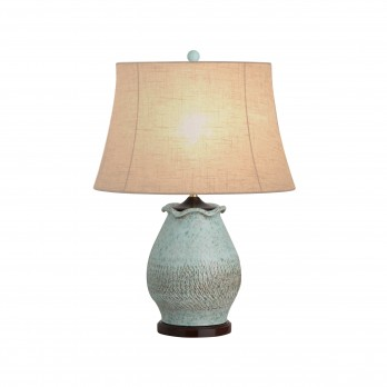 Short Scallop Vase Lamp