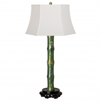 Tall Zu Bamboo Lamp