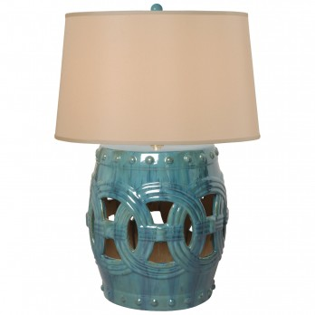 Linked Fortune Stool Lamp