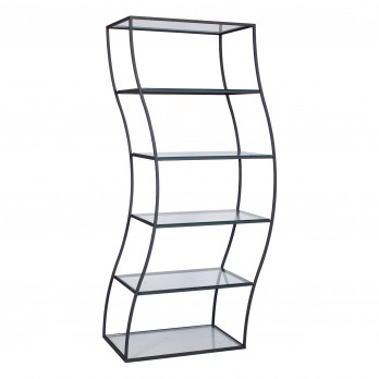 Wave Glass Shelf