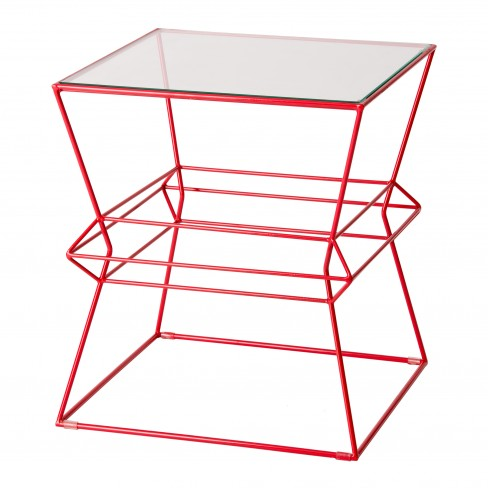 Square Vector Metal Table