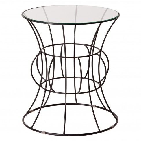 Belle Round Metal Table