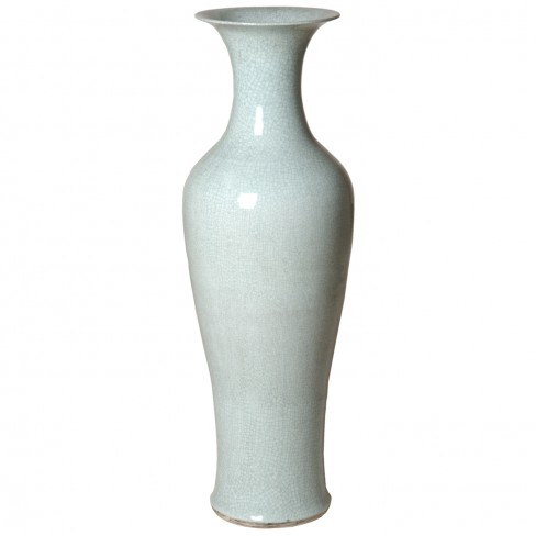 Tall Fishtail Vase