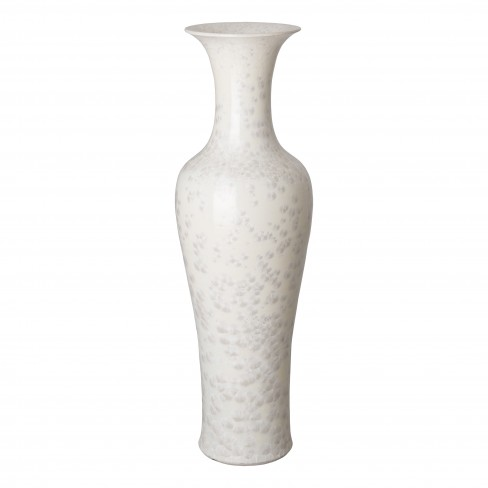 53 in. Tall Porcelain Fish Tail Vase