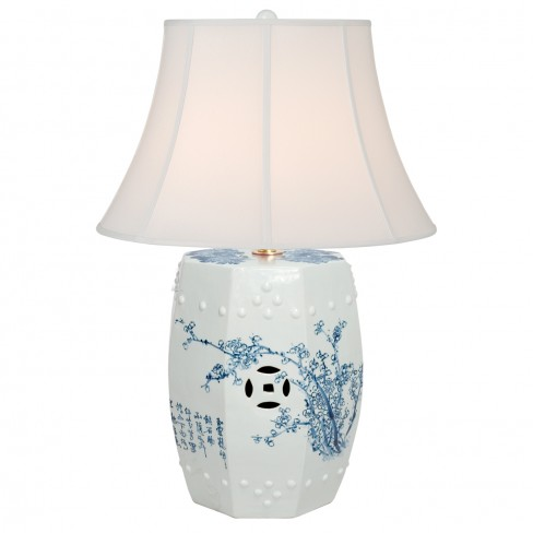 Four Seasons Octagonal Stool Lamp