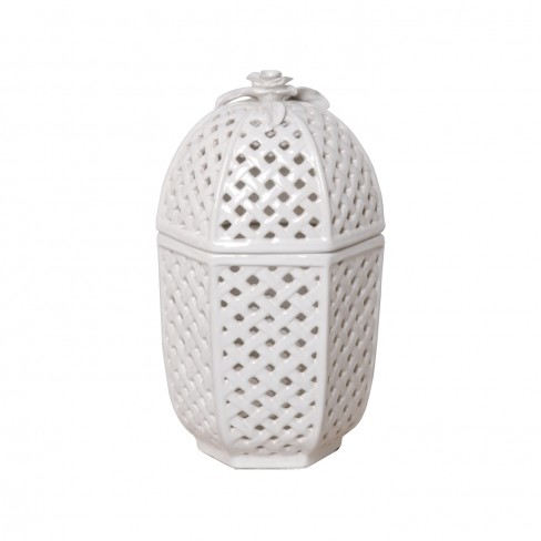 Trellis Container with Lid