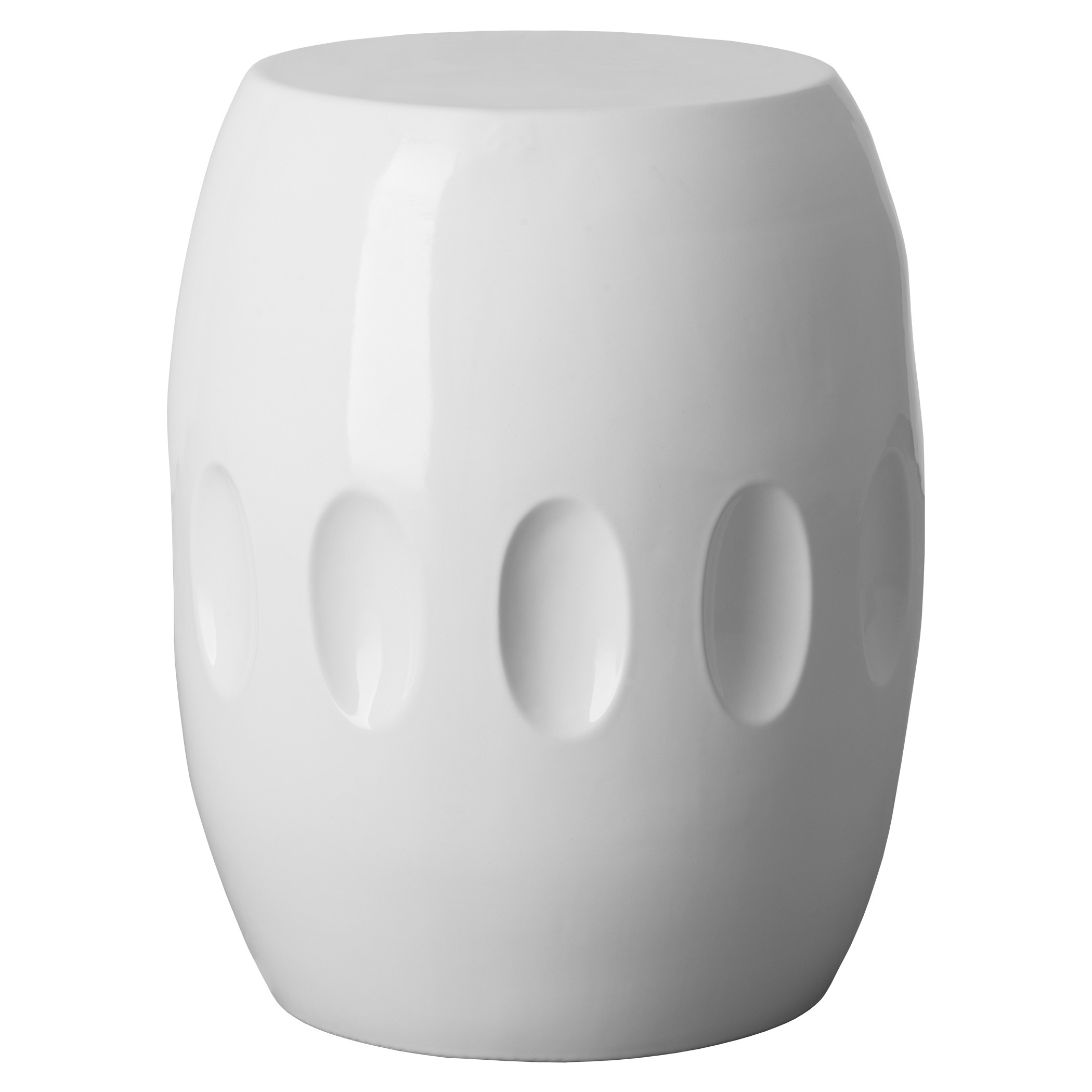 shipping harmony free white paradise garden overstock safavieh ceramic product home stool today