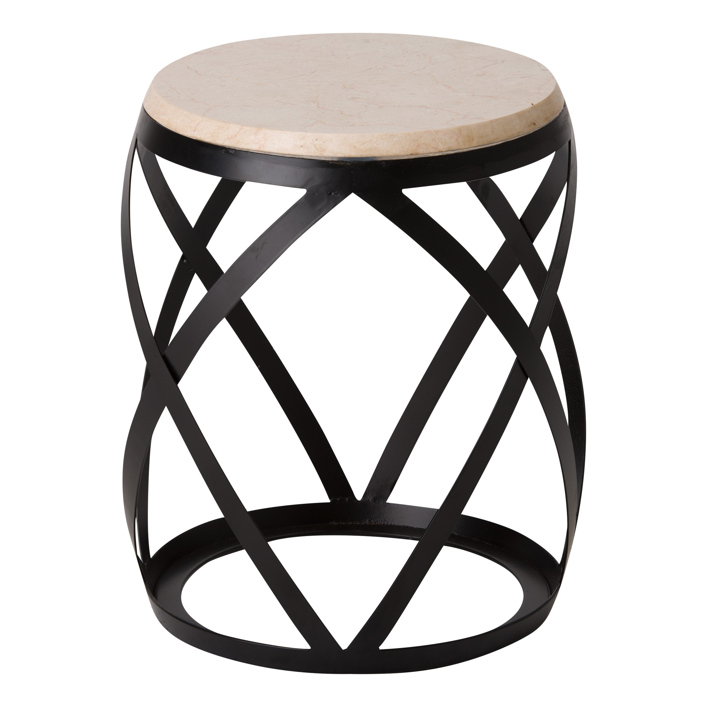 Knox Metal Stool Table