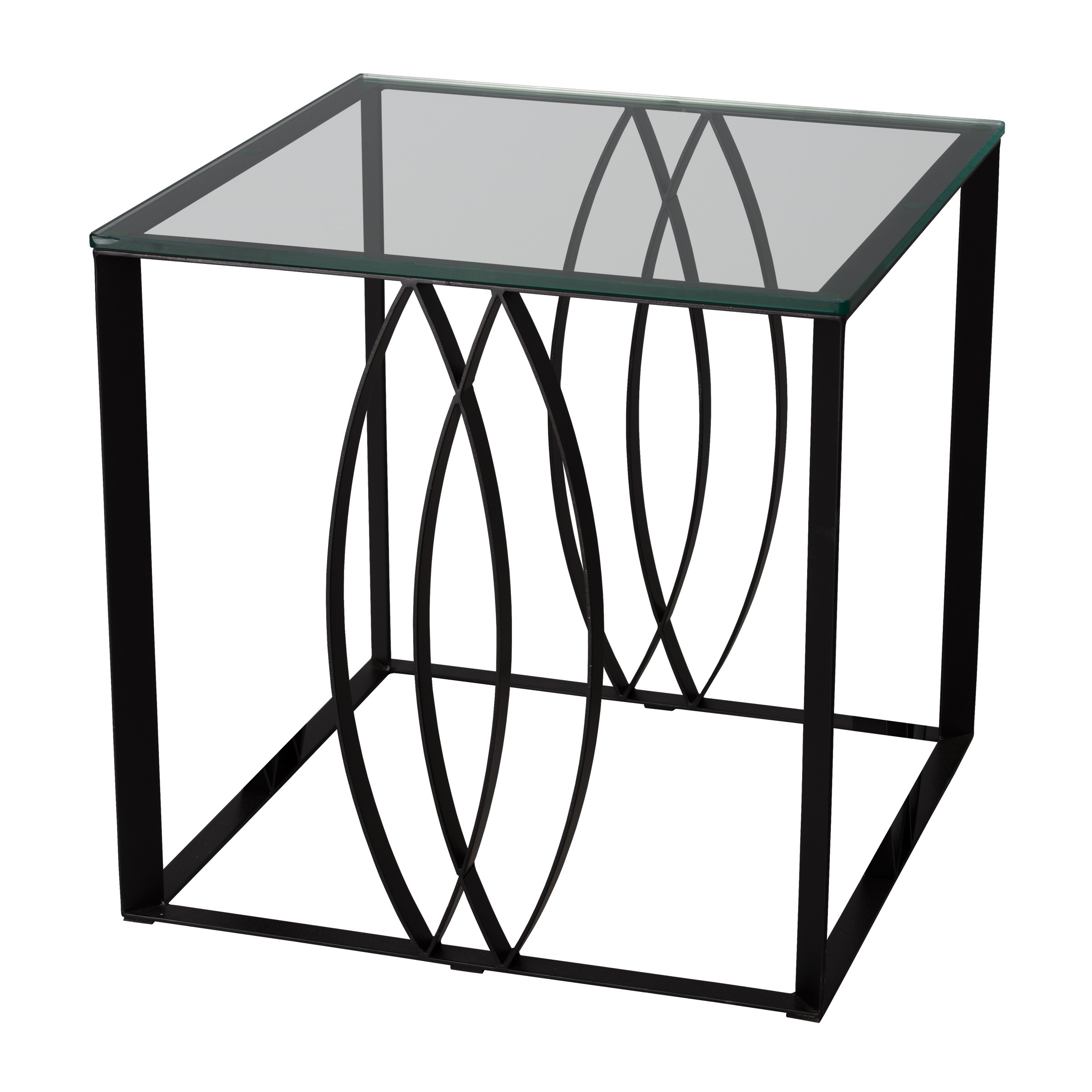 Square Ellipse Side Table