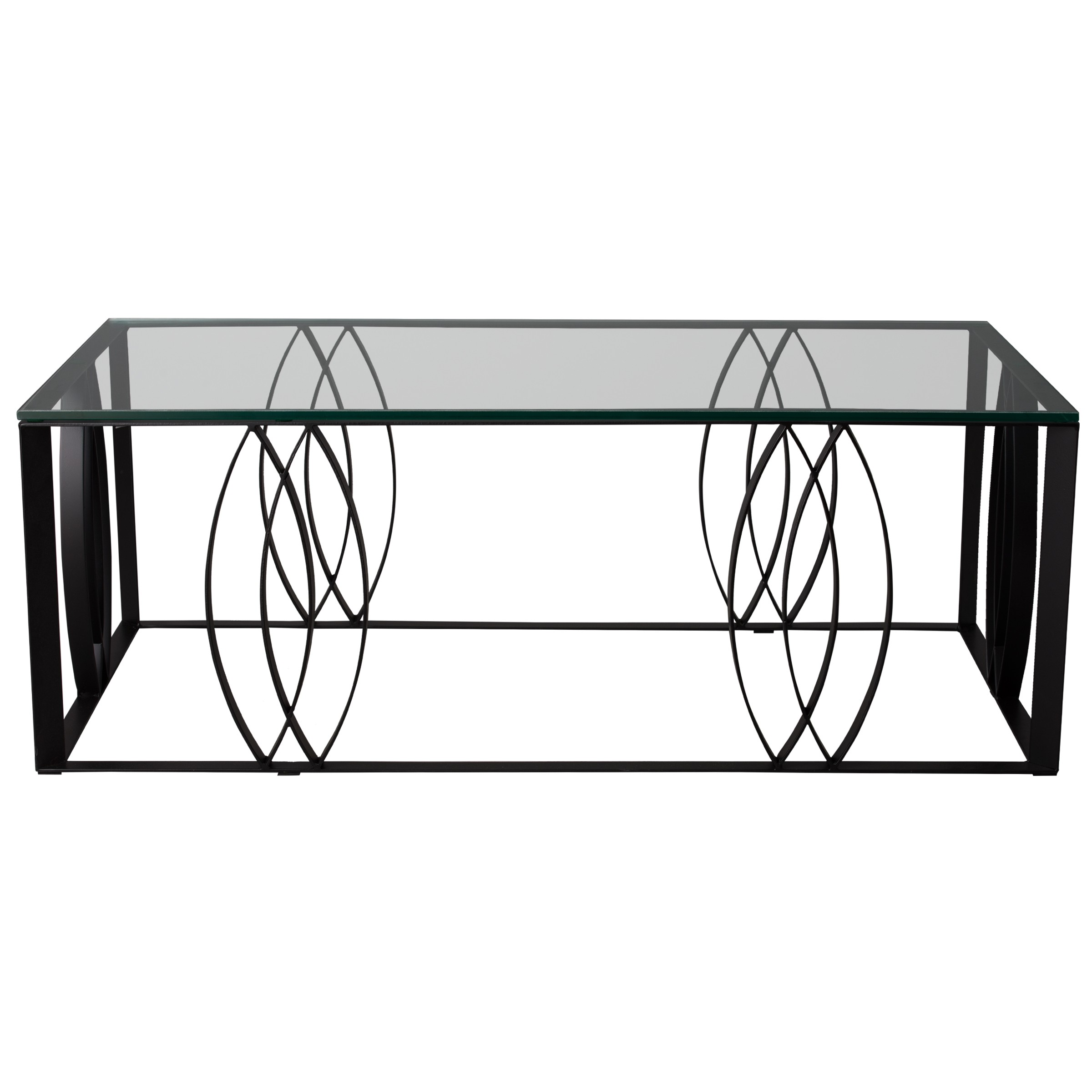Rectangle Ellipse Coffee Table