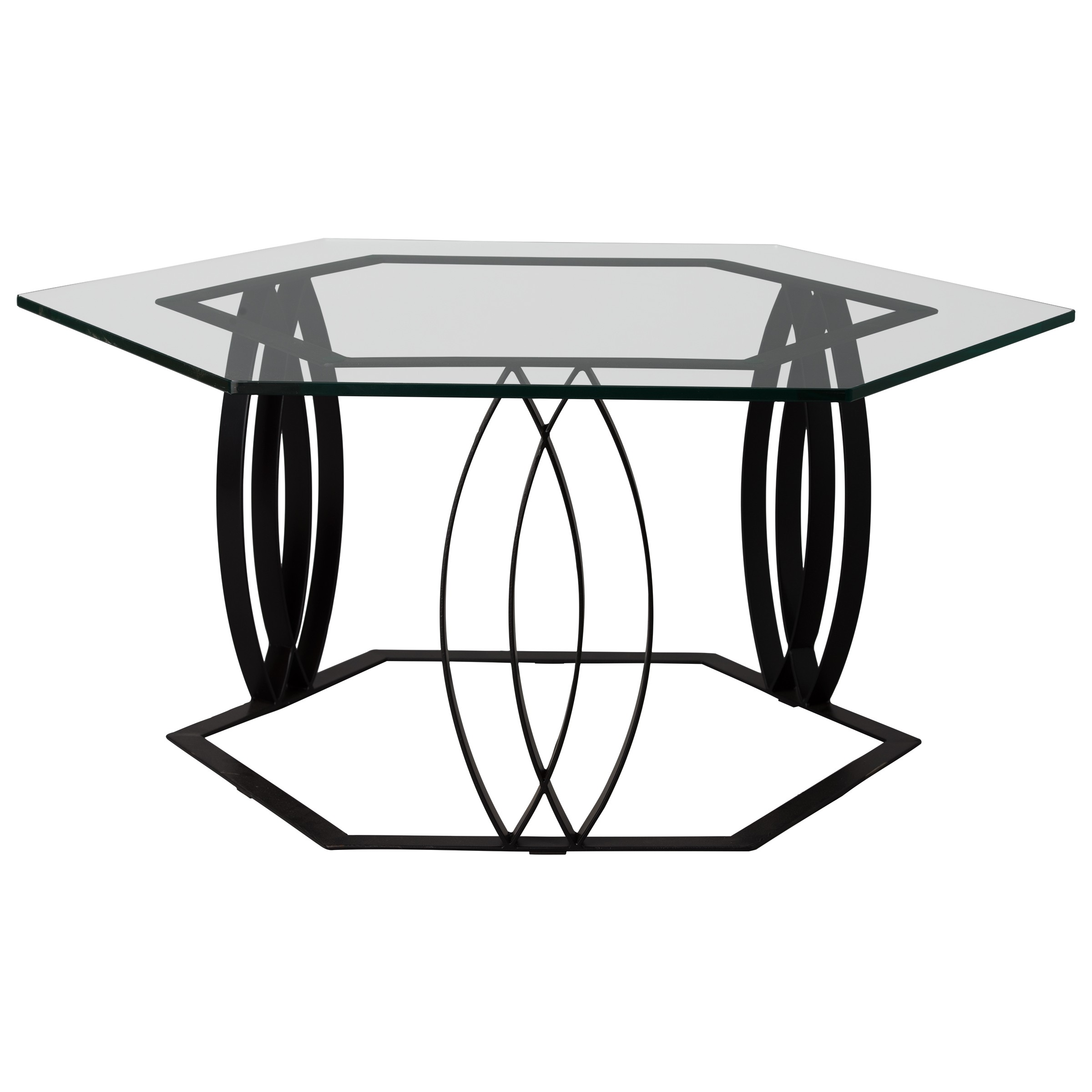 Hex Ellipse Coffee Table