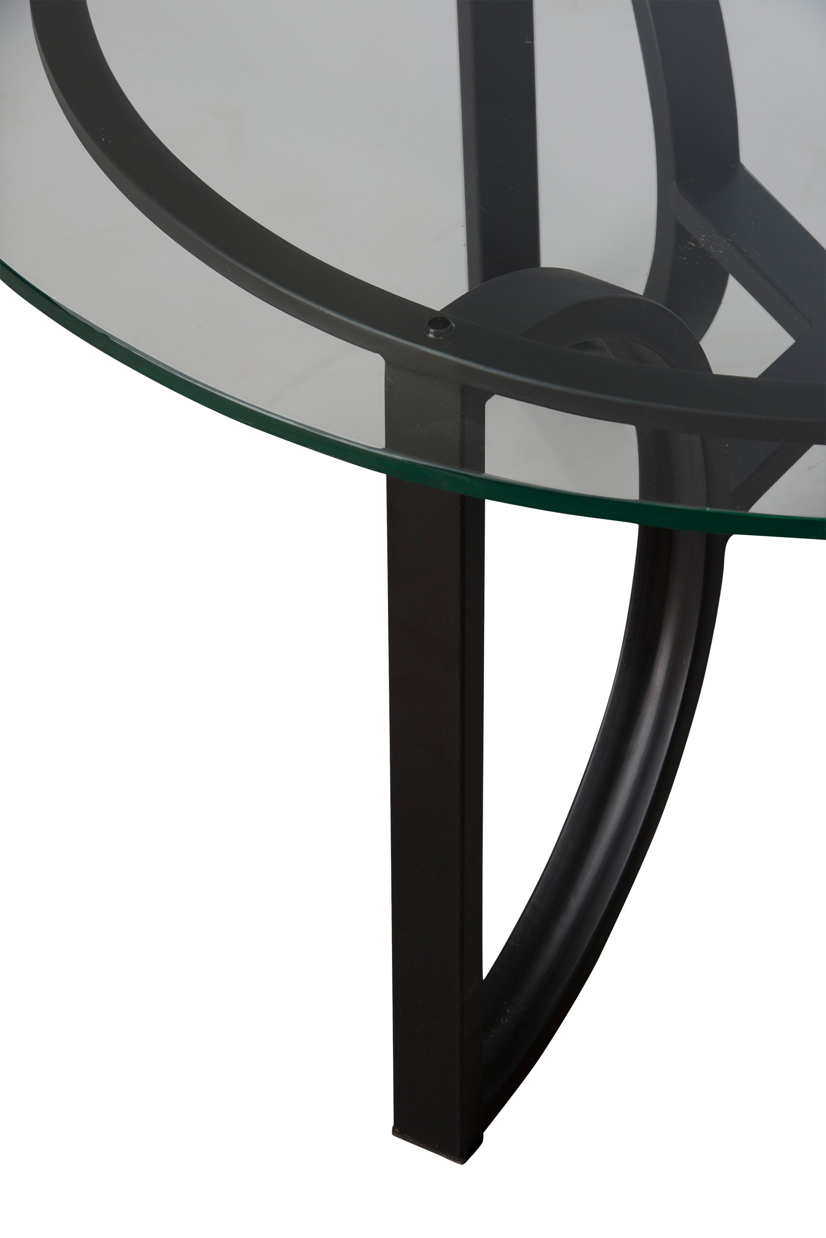 Round Archer Metal Coffee Table