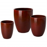 Set of 3 Tall Planters