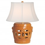 Double Fortune Stool Lamp