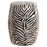 Zebra Garden Stool/Table