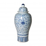 Porcelain Temple Jar