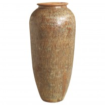 Tall Etched Jar