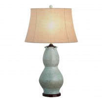 Tall Scallop Vase Lamp