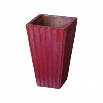 13 in. Square Ceramic Planter