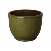 14 in. Round Ceramic Planter