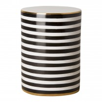 Siena Stripe Garden Stool/Table