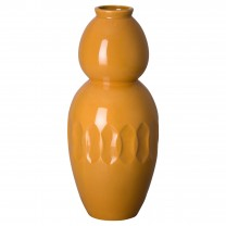 20.5 in. Ellipse Gourd Ceramic Vase