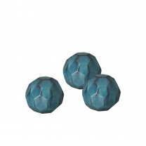 Set of 3 Small Geodesic Balls