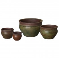 Set of 4 Cabbage Planters