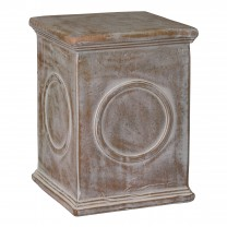 Raynold Square Garden Stool/Table