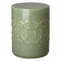 18 in. Axton Ceramic Garden Stool/Table
