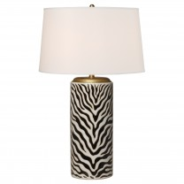 Zebra Umbrella Stand Lamp