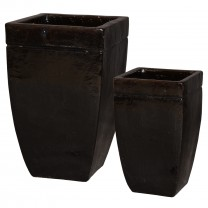 Set of 2 Square Planters