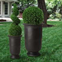 Set of 2 Tall Cup Planters