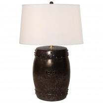 Drum Garden Stool Lamp