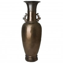 Tall Two-Handle Vase