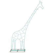Large Metal Giraffe