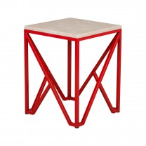 Kory Metal Stool/Table