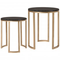 Round Nesting Metal Tables