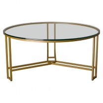 Large Terrell Metal Coffee Table