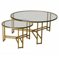 Set of 2 Terrell Metal Coffee Tables