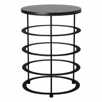 Large Orbit Metal Stool/Table
