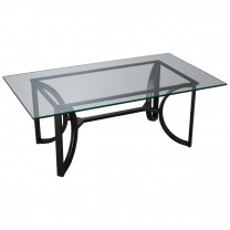 Rectangle Archer Metal Coffee Table