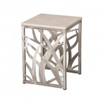 18 in. Square Seaweed Stool/Table