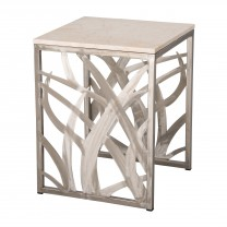 22 in. Square Seaweed Stool/Table