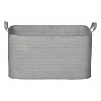 Large Rectangle Galvanized Zinc
