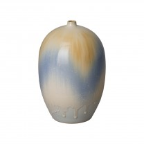 14.5 in. Melon Ceramic Vase
