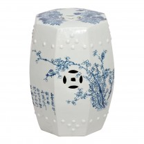 Four Seasons Octagonal Garden Stool