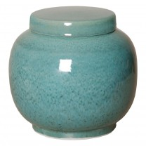 Short Porcelain Lantern Ginger Jar